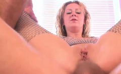 blonde slut gets to pleasure numerous big cocks