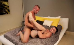 Sexy James Huntsman and Johnny bareback and doggystyle
