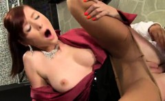 Stunned Peach In Lingerie Is Geeting Peed On And Shagged