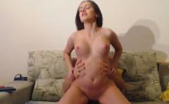 Horny Babe Filled Her Titties With Boyfriend Cum