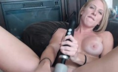 Magnificent Milf Model Uses Her New Sex Toy