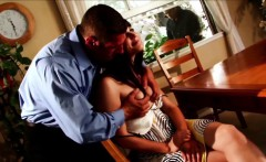 WANKZ- Peeping Tom Joins Couple For A Threesome