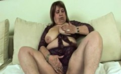 hot granny gets fucked hard by younger man doggystyle