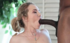 Teen sweetie is in mood to try this large black knob