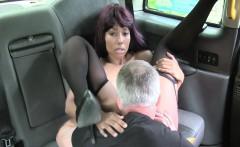 Ebony redhead bang pussy in taxi