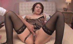 Gorgeous Yurika Momo In Stockings Fucked With Sex Toys