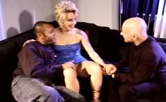 threesome for horny milf swinger rough sex