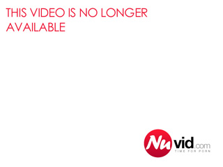 Busty black girl taking care of big dick