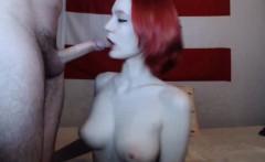 Redhead Teen Girl Blowjob