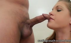 Two super sexy blonde girls are applying for a job in the