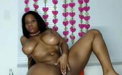 Hot Black Maid Does Some Webcam Black and Ebony