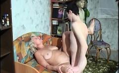 Russian mature mom andboy Amateur