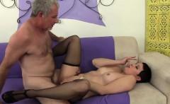 mature slut seduces a big dicked guy