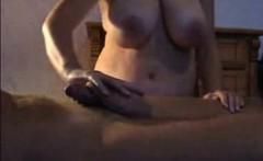 indian bhabhi giving husband handjob and massage naked