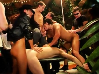 Erection in group shower video gay gangsta soiree is in full