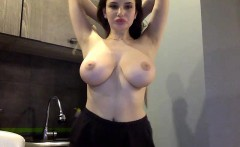 Cam to Cam Babe Big Natural Boobs On Webcam