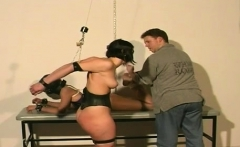 woman plays by mans rules in s&m xxx dilettante show