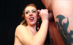 painful anal and mouth full of cum for russian slut