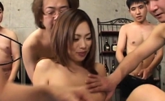 Japan woman gets two males to drill her while on duty