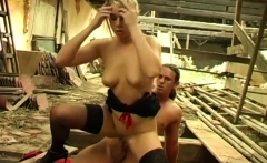 Kinky Bitch Takes A Big Golden Shower Whilst Getting Fucked