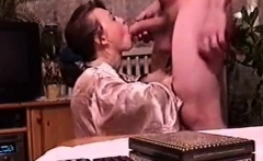 Real Pulled European Giving Handjob And Blowjob To Stranger