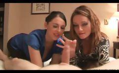 Two hot britsh sluts spanking slong in a hotel room