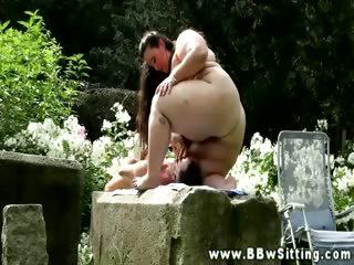 Порно по деревенски с толстушками