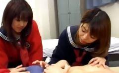 korean FFM threesome in hotel room