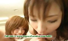 Nao Ayukawa and Rio Hanasaki hot girl naughty Chinese