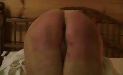 Spanking big ass my wife Soar and Red