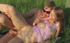 Brutal teenagers anal garden sex