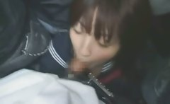 Schoolgirl BJ in Crowded Bus!