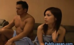Azusa Nagase Hot Asian model likes hot