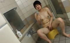Amateur chinese girl in the shower