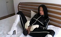 Spicy Young Hottie BDSM Pantyhose Porn