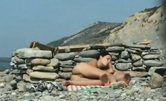 Cock Sucking At The Beach