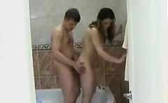 Russian Teen Fucked In The Bathroom