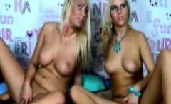 Lesbian girls play toys together live webcam