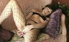 Having Fun With Adult Toys In Fishnets