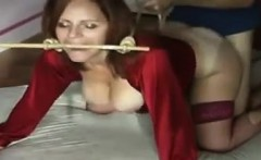 Mature Whore In Stockings Fucked Doggystyle