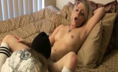 Ed Powers Takes A Blonde Girl Shaved Pussy Fucked