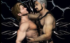 3D Muscled Men and Fantasy Boys!