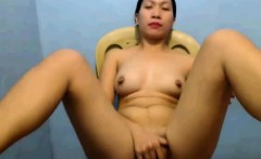 FriskyHoles milks her tits and fingers pussy so good