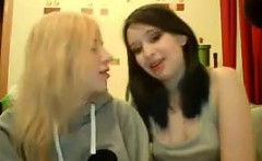 College Students Having Some Lesbian Fun