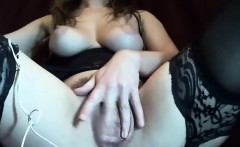 Hairy Stockings MILF Anal on Webcam - Cams69.net