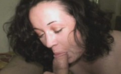 Brunette Street Whore Nibbles On Knob Point Of View
