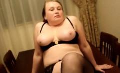 Chunky amateur lass teasing her boyfriend