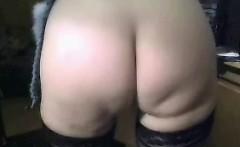 Our butt prepared for cum