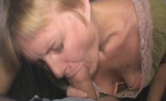 Mature Blonde Crack Whore Giving Dirty Head For Dollars