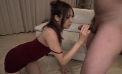 Cock sucking milf, Yukina Momota, blows like an angel